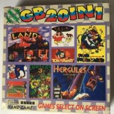 Videojuegos y Consolas: CARTUCHO GAME BOY 20 EN 1. Lote 245786505