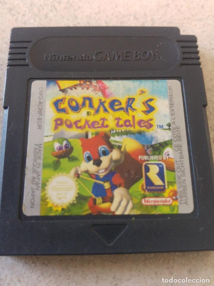 CONKER'S POCKET TALES GAMEBOY GB NINTENDO (Juguetes - Videojuegos y Consolas - Nintendo - GameBoy)
