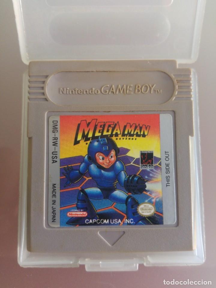 MEGAMAN MEGA MAN GAMEBOY GB NINTENDO (Juguetes - Videojuegos y Consolas - Nintendo - GameBoy)