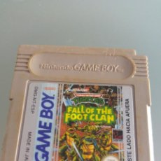 Videojuegos y Consolas: TURTLES FALL OF THE FOOT CLAN TMNT NINTENDO GAMEBOY GB. Lote 246259100