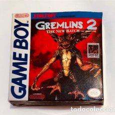 Videojuegos y Consolas: GREMLINS 2 THE NEW BATCH [SUNSOFT 1990] [DMG-GR-NOE] [NINTENDO GAMEBOY] JUEGO ORIGINAL CAJA REPRO. Lote 246772445