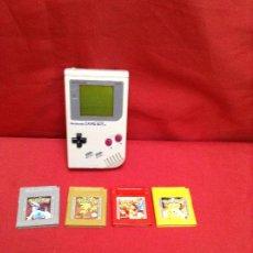 Videojuegos y Consolas: GAME BOY CLÁSICA , FUNCIONANDO PERFECTAMENTE , MÁS CUATRO JUEGOS. Lote 248085195