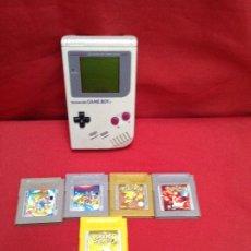 Videojuegos y Consolas: GAME BOY CLÁSICA , FUNCIONANDO PERFECTAMENTE , MÁS CINCO JUEGOS. Lote 248085335