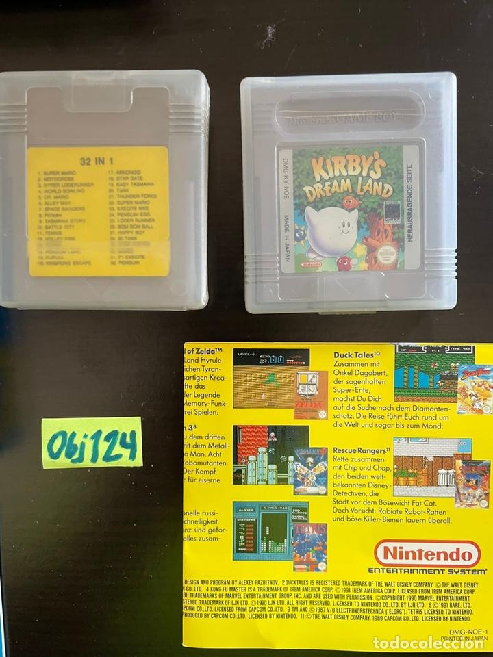 Videojuegos y Consolas: Game Boy uno con juegos Kirby Dreamland españa - Foto 2 - 248499355