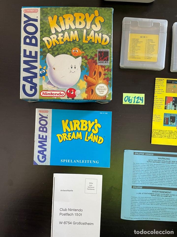 Videojuegos y Consolas: Game Boy uno con juegos Kirby Dreamland españa - Foto 3 - 248499355