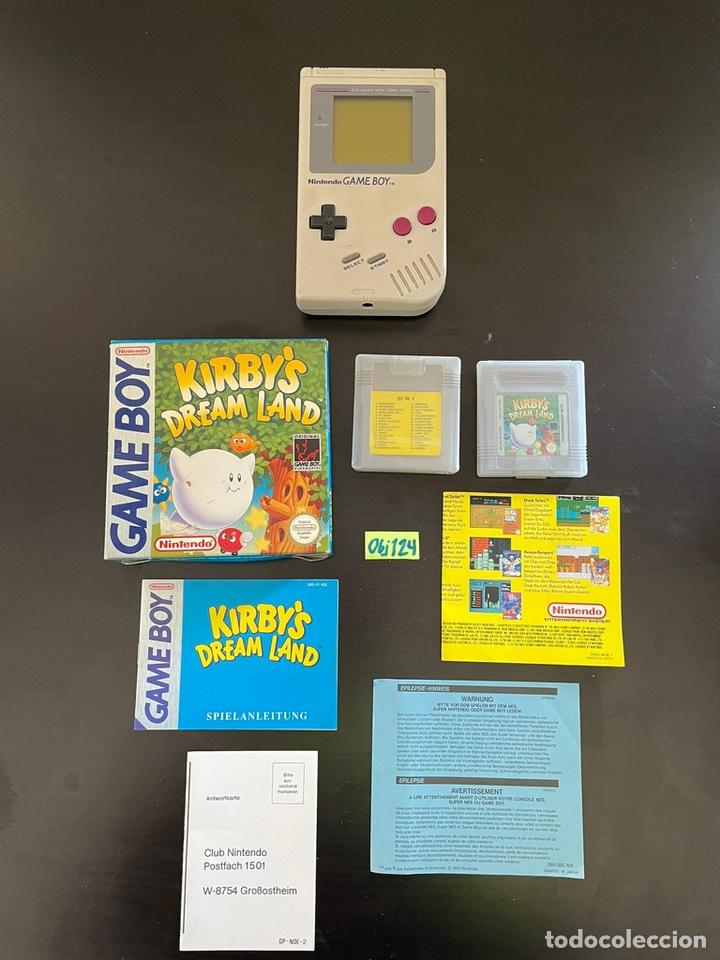 GAME BOY UNO CON JUEGOS KIRBY DREAMLAND ESPAÑA (Juguetes - Videojuegos y Consolas - Nintendo - GameBoy)