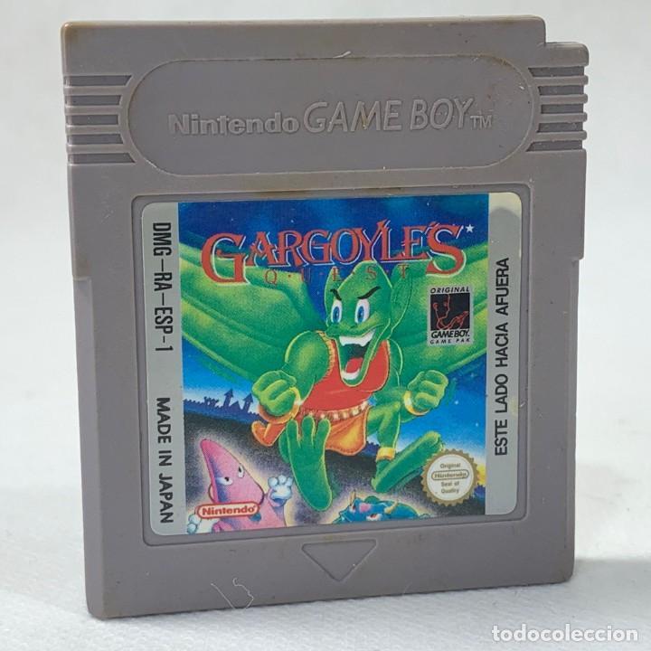 VIDEOJUEGO - NINTENDO GAME BOY - GARGOYLES - ESP (Juguetes - Videojuegos y Consolas - Nintendo - GameBoy)