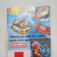 Videojuegos y Consolas: PÓSTER MARIO GAME BOY NINTENDO, MATUTANO ( PLASTIFICADO NUEVO ). Lote 254050710
