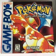 Videojuegos y Consolas: CARTUCHO PARA GAMEBOY CLONICO - POKEMON RED. Lote 254356330