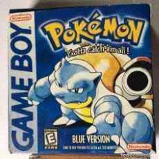 Videojuegos y Consolas: CARTUCHO PARA GAMEBOY CLONICO - POKEMON BLUE. Lote 254356395