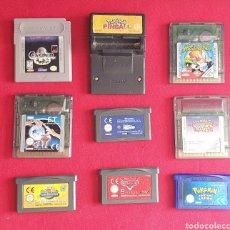 Videojuegos y Consolas: LOTE DE NINTENDO JUEGOS GAME BOY. Lote 254521880