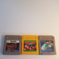 Videojuegos y Consolas: LOTE JUEGOS GAMEBOY NTSC-J. Lote 254947405