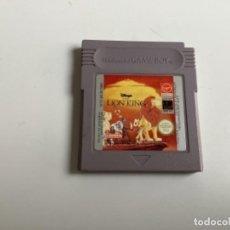 Videojuegos y Consolas: REY LEON DISNEY GAMEBOY. Lote 255326610