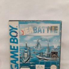 Videojuegos y Consolas: SEA BATTLE NINTENDO GAMEBOY COMPLETO GAME BOY. Lote 255395060