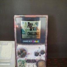 Videojuegos y Consolas: NINTENDO GAME BOY COLOR FUNCIONA !! INCLUYE JUEGO ALL STAR CHALLENGE NBA. Lote 255535925