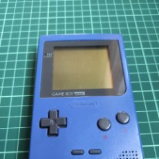 Videojuegos y Consolas: GAME BOY POCKET COLOR AZUL. Lote 257444310