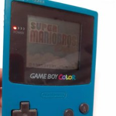 Videogiochi e Consoli: GAME BOY COLOR NINTENDO SUPER MARIOBROS FUNCIONANDO CON JUEGO INCLUIDO. Lote 260593670