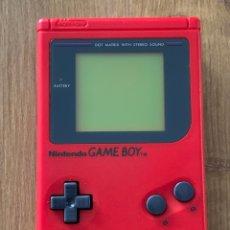 Videojuegos y Consolas: GAME BOY DMG-01 PLAY IT LOUD ROJA. Lote 260728250