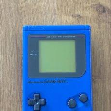 Videojuegos y Consolas: GAME BOY DMG-01 PLAY IT LOUD AZUL. Lote 260728880