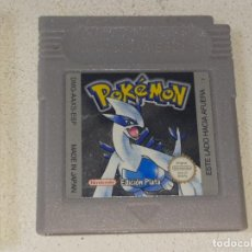 Videogiochi e Consoli: NINTENDO GAME BOY : ANTIGUO JUEGO POKEMON EDICION PLATA - ESPAÑOL - AÑO 2001 FUNCIONANDO. Lote 260790910