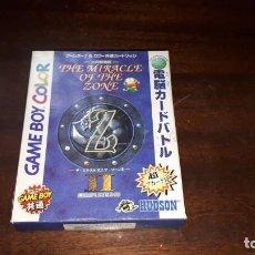 Videojuegos y Consolas: GAMEBOY COLOR EL MILAGRO DE LA ZONA II JAPÓN. Lote 261531420