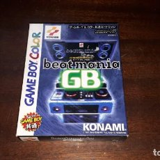Videojuegos y Consolas: BEATMANIA GB JAPÓN GB GAME BOY COLOR CON CAJA. Lote 261531960