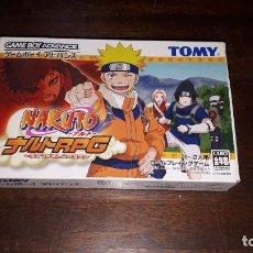 Videojuegos y Consolas: NARUTO RPG JAPÓN GAME BOY ADVANCE CON CAJA. Lote 261533175