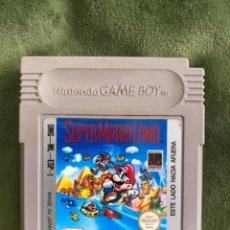 Videogiochi e Consoli: ANTIGUO JUEGO GAMEBOY GAME BOY NINTENDO SUPERMARIO SÚPER MARIO LAND. Lote 262090285