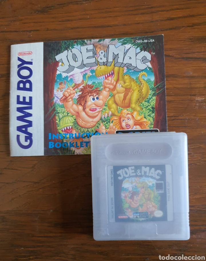 JUEGO GAMEBOY JOE & MAX (Juguetes - Videojuegos y Consolas - Nintendo - GameBoy)