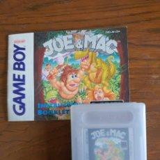 Videojuegos y Consolas: JUEGO GAMEBOY JOE & MAX. Lote 265654859