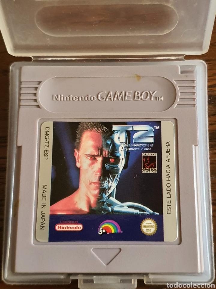 JUEGO TERMINATOR 2 GAMEBOY (Juguetes - Videojuegos y Consolas - Nintendo - GameBoy)