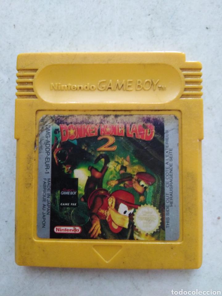 JUEGO NINTENDO GAME BOY DONKEY KONG LAND 2 (Juguetes - Videojuegos y Consolas - Nintendo - GameBoy)