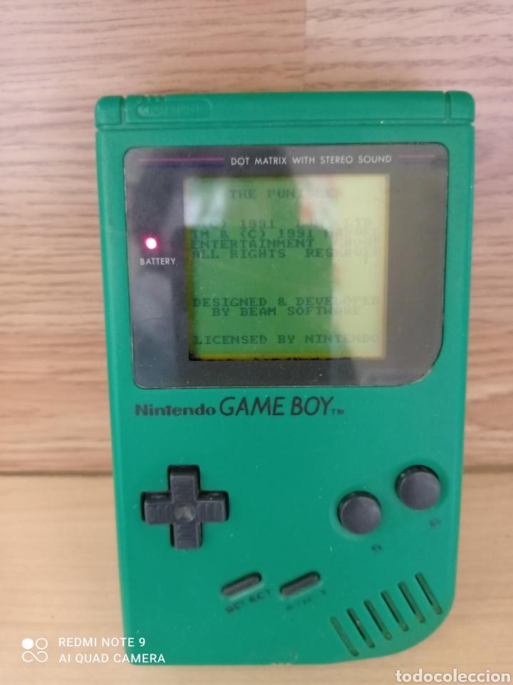 GAME BOY VERDE TODA ORIGINAL (Juguetes - Videojuegos y Consolas - Nintendo - GameBoy)