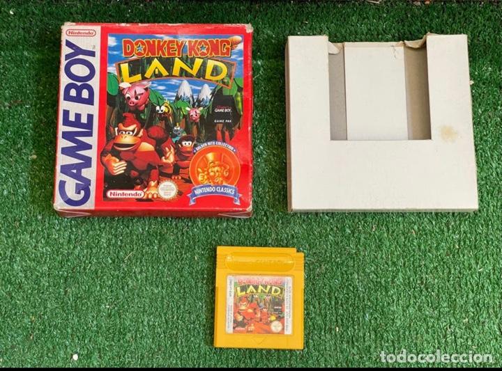 DONKEY KONG LAND NINTENDO GAME BOY (Juguetes - Videojuegos y Consolas - Nintendo - GameBoy)