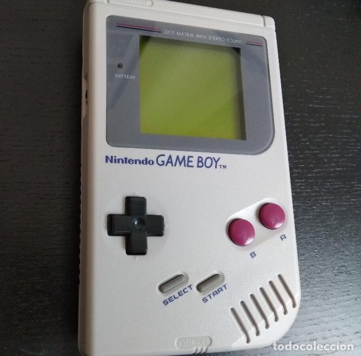 CONSOLA GAMEBOY GAME BOY DMG-01 (Juguetes - Videojuegos y Consolas - Nintendo - GameBoy)