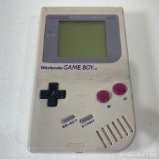 Videojuegos y Consolas: CONSOLA NINTENDO GAME BOY GRIS - LA TOCHA - FUNCIONA. Lote 269129543