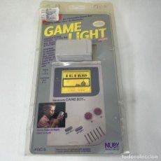 Videojuegos y Consolas: GAME LIGHT - PARA NINTENDO GAME BOY - NUBY -EN BLISTER - NUEVO SIN ESTRENAR. Lote 269136308