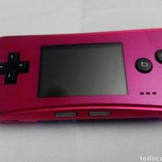 Videojuegos y Consolas: GAME BOY MICRO ROSA NINTENDO GAMEBOY. Lote 271087618