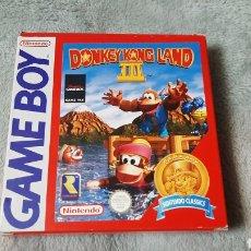 Videojuegos y Consolas: DONKEY KONG LAND 3 DONKEYKONG LAND III GAMEBOY GB. Lote 275136988