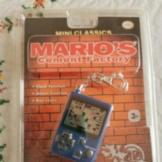 Videojuegos y Consolas: NINTENDO GAME&WATCH MINI CLASSICS MARIO´S CEMENT NUEVA PAL EUR. Lote 275313463