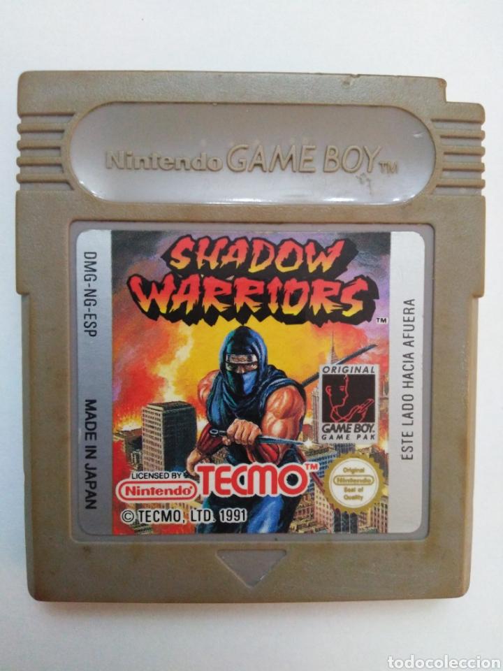 JUEGO GAME BOY SHADOW WARRIORS NINJA GAIDEN (Juguetes - Videojuegos y Consolas - Nintendo - GameBoy)
