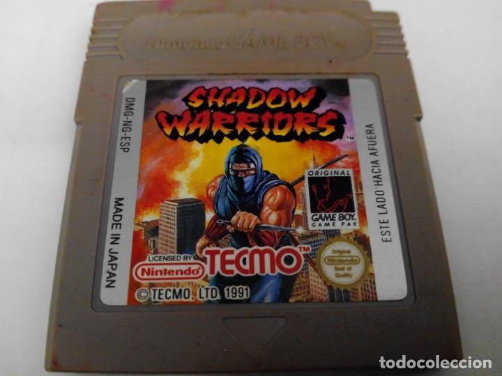 SHADOW WARRIORS GAME BOY NINTENDO (Juguetes - Videojuegos y Consolas - Nintendo - GameBoy)