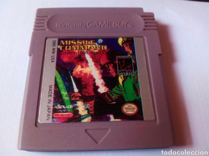MISSILE COMMAND GAME BOY NINTENDO (Juguetes - Videojuegos y Consolas - Nintendo - GameBoy)