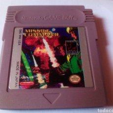 Videojuegos y Consolas: MISSILE COMMAND GAME BOY NINTENDO. Lote 275968393