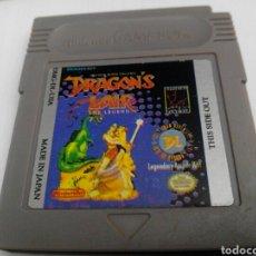 Videojuegos y Consolas: DRAGON'S LAURA GAME BOY NINTENDO. Lote 275969738