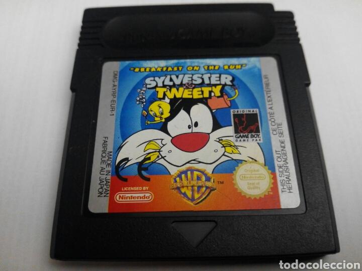SYLVESTER & TWEETY BREAKFAST ON THE RUN GAME BOY NINTENDO (Juguetes - Videojuegos y Consolas - Nintendo - GameBoy)