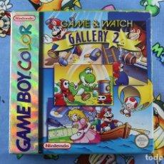 Videojuegos y Consolas: NINTENDO GBC GAME BOY COLOR GAME & WATCH GALLERY 2 CON CAJA Y MANUAL. Lote 276021148
