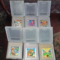 Videojuegos y Consolas: GAME BOY 7 VIDEOJUEGOS - NINTENDO 1989 -. Lote 276073908