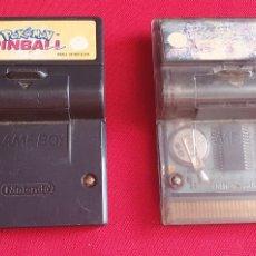 Videojuegos y Consolas: LOTE DE 2 JUEGOS POKÉMON PINBALL Y PERFECT DARK NINTENDO GAME BOY. Lote 276128818