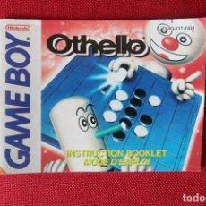Videogiochi e Consoli: INSTRUCCIONES DEL JUEGO OTHELLO DE GAMEBOY. Lote 276280983